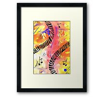 Music - Unique Abstract Art Framed Print