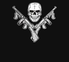 Skull and Tommy Guns T-Shirt