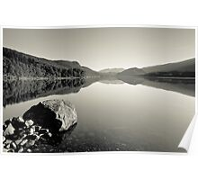 Early Morning On Thirlmere Poster