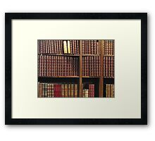 Knowledge Framed Print