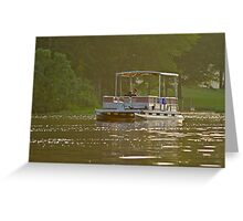 Summertime on the Lake Greeting Card