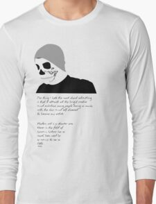 Advertise to Death Long Sleeve T-Shirt