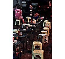 Hanoi Street Food Photographic Print