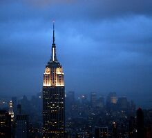 Empire State of Mind - New York by Jacquelyn Melling