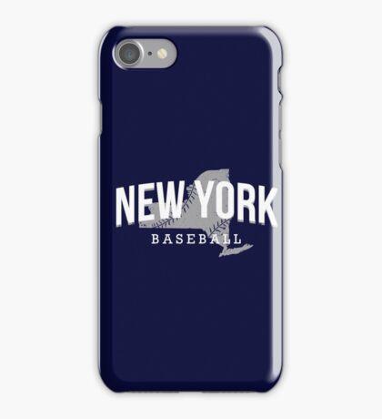 New York Baseball 3 iPhone Case/Skin