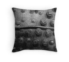 Steam Engine Detail 2 Throw Pillow