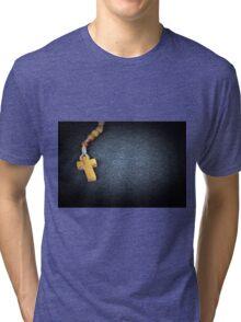 rosary  Tri-blend T-Shirt