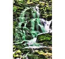Great Hollow falls in HDR Photographic Print