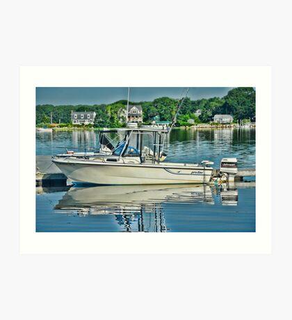 Boating in Narragansett, RI  Art Print