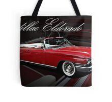 1960 Cadillac 62 Series Convertible El Dorado Tote Bag