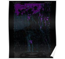 USGS Topo Map Oregon Sand Rock 281379 1981 24000 Inverted Poster