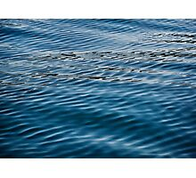 Ripples on Puget Sound Photographic Print