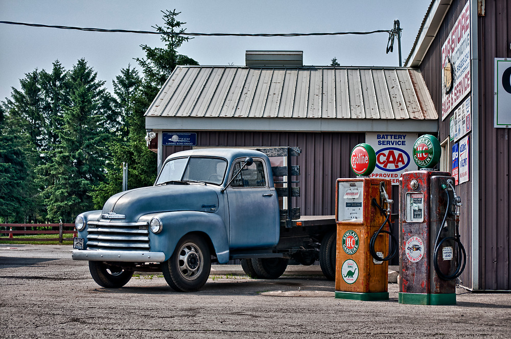 40's Chevy Flatbed in HDR by Gary Paakkonen