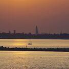 Sunset over Venice by Mark Wilson
