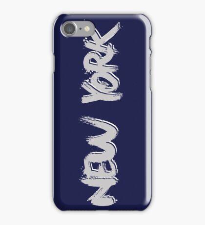 New York: Grey iPhone Case/Skin