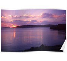 Lesvos Sunset Poster