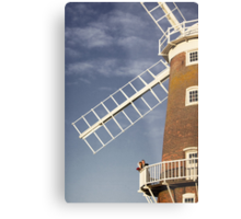 Cley Windmill - Love in the air Metal Print