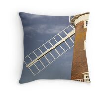 Cley Windmill - Love in the air Throw Pillow