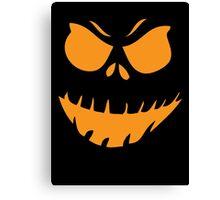 Halloween Face Canvas Print