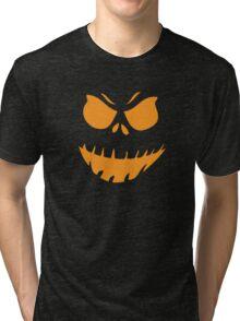 Halloween Face Tri-blend T-Shirt
