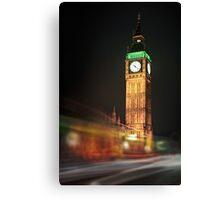 Big Ben Blur Canvas Print