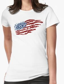 Proud Patriot Womens Fitted T-Shirt
