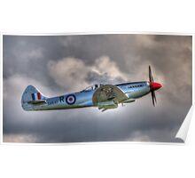 Supermarine Spitfire FR MkXVIIIe Poster