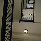 West Baden Hotel stairwell by Hope A. Burger