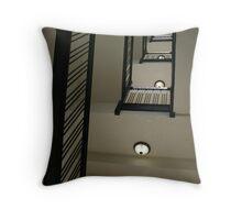 West Baden Hotel stairwell Throw Pillow