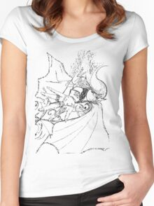 Elven rings Women's Fitted Scoop T-Shirt