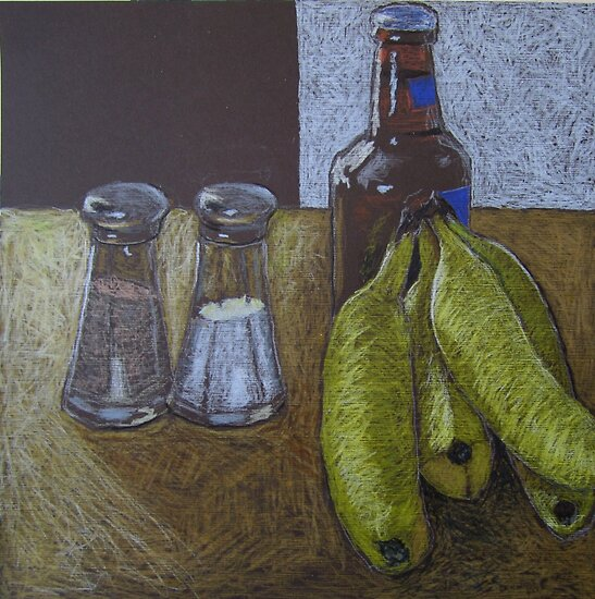 """Bananas and beer"" by Richard Robinson"