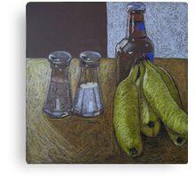 """""""Bananas and beer"""" Canvas Print"""