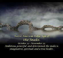 The Native American Zodiac Sign of the Snake (Scorpio) by Stephanie Laird