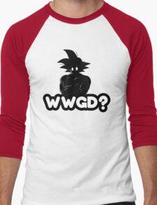 What Would Goku Do? Men's Baseball ¾ T-Shirt