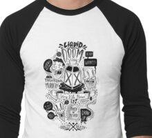 Liquid Doom Men's Baseball ¾ T-Shirt