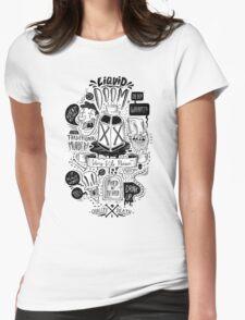 Liquid Doom Womens Fitted T-Shirt