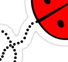 Cute Lady Bug Sticker