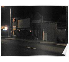 My Neighborhood at Night Poster