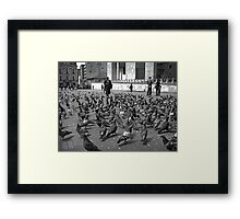Pigeons are People too Framed Print