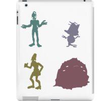 Natives - Oddworld Coloured Silhouettes iPad Case/Skin