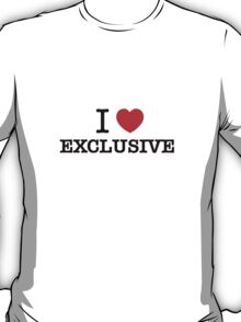 I Love EXCLUSIVE T-Shirt
