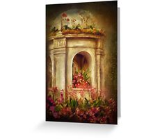 Orchids Fantasy Greeting Card