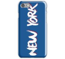 New York: Blue iPhone Case/Skin