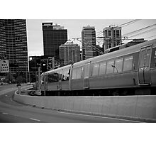 cityscapes #239, onward rush Photographic Print