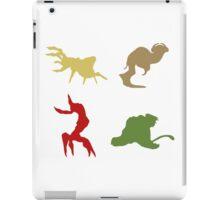 Wildlife - Oddworld Coloured Silhouettes iPad Case/Skin