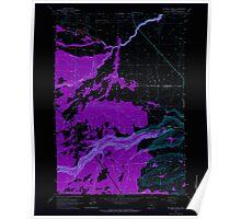 USGS Topo Map Oregon Potters Ponds 281153 1963 24000 Inverted Poster