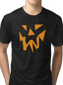 Scary Face Tri-blend T-Shirt