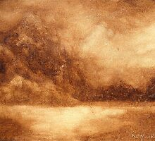 Sepia Landscape by Marilyn Healey