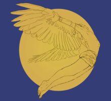 Icarus Gainst the Sun by delilahdesanges