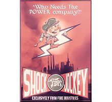 BioShock Infinite – Shock Jockey Poster Photographic Print
